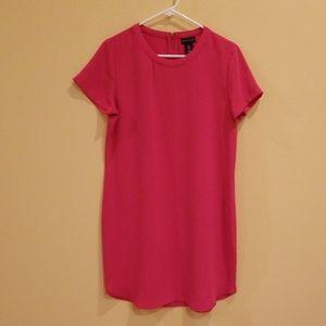 Adrienne Vittadini Short Cap Sleeve Shirt Dress